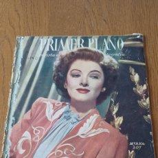 Cine: REVISTA PRIMER PLANO N° 311. AÑO 1946 .MYRNA LOY.. Lote 264803454
