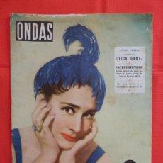 Cine: ONDAS, CELIA GAMES, REVISTA Nº 73, 15 DE DICIEMBRE DE 1955. Lote 265155999