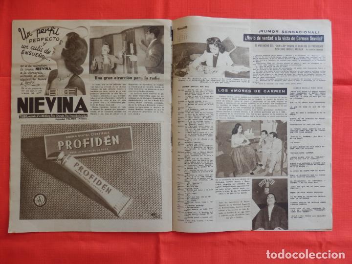 Cine: Ondas, Carmen de Lirio, revista Año IV, num. 50, 1 enero 1955 - Foto 3 - 265160839