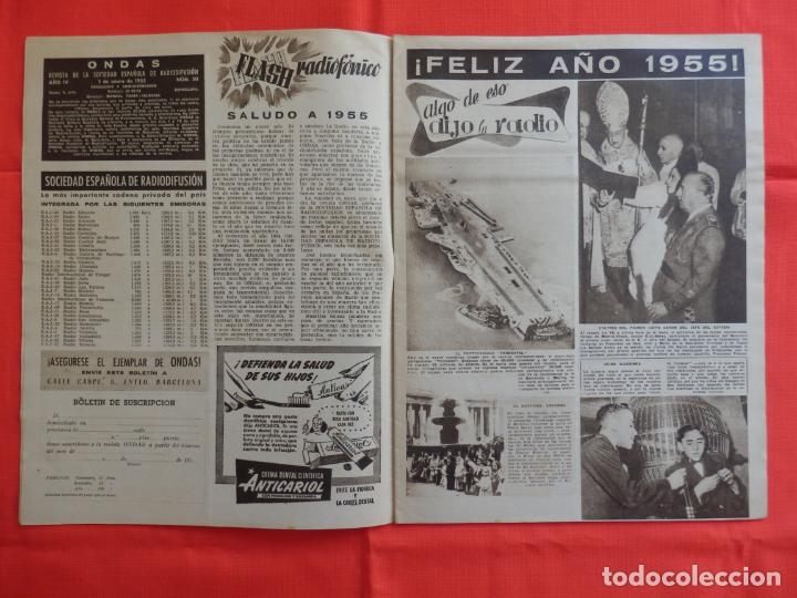 Cine: Ondas, Carmen de Lirio, revista Año IV, num. 50, 1 enero 1955 - Foto 4 - 265160839
