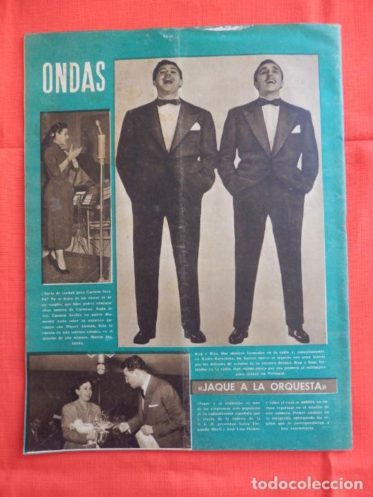 Cine: Ondas, Carmen de Lirio, revista Año IV, num. 50, 1 enero 1955 - Foto 5 - 265160839