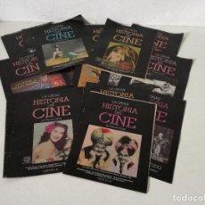 Cinema: LOTE DE 21 REVISTAS O FASCÍCULOS DE CINE, LA GRAN HISTORIA DEL CINE. Lote 265428634