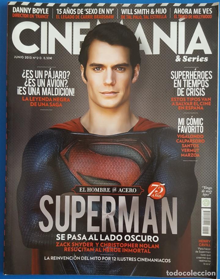 REVISTA CINEMANIA Nº 213 JUNIO 2013 (Cine - Revistas - Cinemanía)