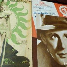 Cinéma: CINE, FILMS SELECTOS 277,PROGRAMACION CAPITOL 1935,LESLIE HOWART DE PRIMER PLANO.. Lote 266167948