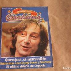 Cine: REVISTA DE CINE , PAPELES DE CINE Nº 6 , CASABLANCA , AÑO 1981. Lote 266255253