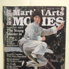 Cine: MARTIAL ARTS MOVIES - MARCH 1982 - JACKIE CHAN, BRUCE LEE, CINE DE KUNG FU. Lote 266393293