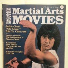 Cine: MARTIAL ARTS MOVIES - NOVEMBER 1981 - JACKIE CHAN, BRUCE LEE, CINE DE KUNG FU. Lote 266393368