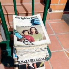 Cinema: LOTE DE 84 REVISTAS DE CINE ANTIGUAS (DIRIGIDO POR, CINEMA 2002, CASABLANCA Y OTRAS). Lote 266497088
