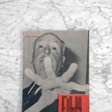 Cine: FILM IDEAL - Nº 62 - 1960 - ALFRED HITCHCOCK, ALBERTO CAVALCANTI, CINE POLICIACO, CLARK GABLE. Lote 266544838
