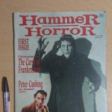 Cinema: HAMMER HORROR MAGAZINE / REVISTA · NÚMERO 1 · MARVEL COMICS UK MARCH 1995. Lote 266756593