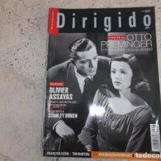 Cinema: DIRIGIDO POR Nº 498, DOSSIER 1 OTTO PREMINGER, DOSSIER OLIVIER ASSAYAS, STANLEY DONEN, TIM BURTON. Lote 267035364