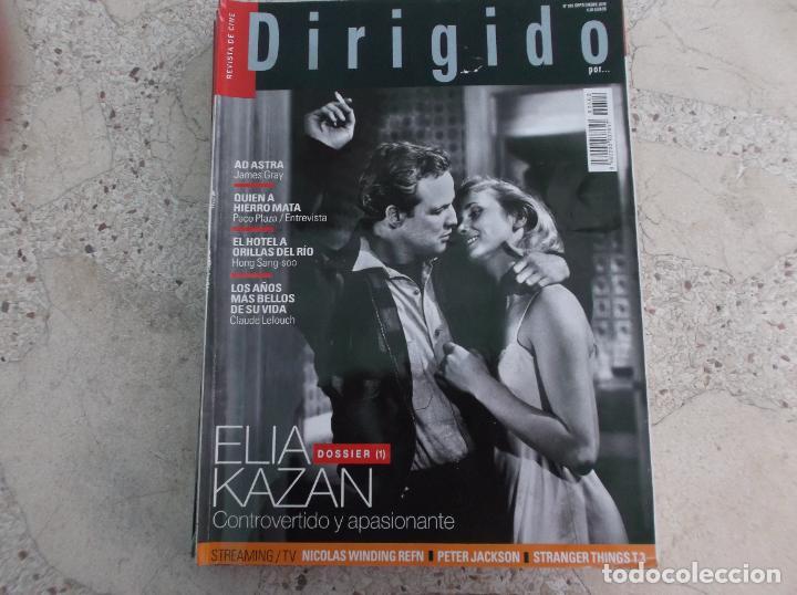 DIRIGIDO POR Nº 502, DOSSIER 1 ELIA KAZAN ,PETER JACKSON, STRANGER THINGS, AD ASTRA, (Cine - Revistas - Dirigido por)