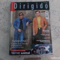 Cinema: DIRIGIDO POR Nº 501, DOSSIER ESPECIAL VERANO TERROR ANIMAL, TARANTINO, MARTIN SCORSESE. Lote 267048764