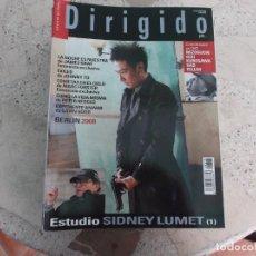Cinema: DIRIGIDO POR Nº 376, ESTUDIO 1 SIDNEY LUMET, BERLIN 2008, JAMES GRAY, MARC FORSTER,. Lote 267050439