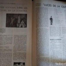 Cinema: BOLETÍN CINECLUB NÚMEROS 2 Y 4. 1956. Lote 267187049