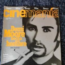 Cine: CINEMANIA Nº 11 AGOSTO 1996 - DEMI MOORE, JIM CARREY, SHARON STONE, CARMEN MAURA. Lote 267248089