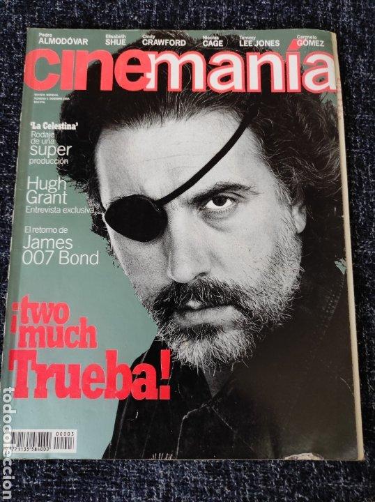 CINEMANIA Nº 3 DICIEMBRE 1995 -FERNANDO TRUEBA, PEDRO ALMODOVAR, ELISABETH SHUE, NICOLAS CAGE (Cine - Revistas - Cinemanía)