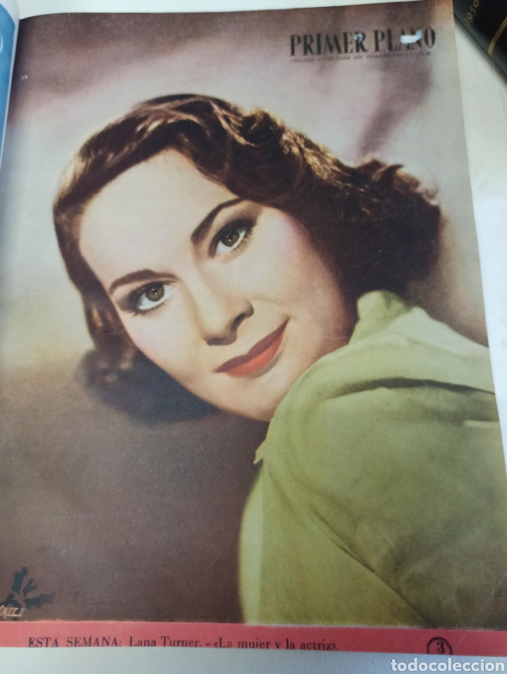 Cine: PRIMER PLANO. REVISTA ESPAÑOLA DE CINEMATOGRAFÍA. AÑO 1950 COMPLETO. 53 REVISTAS MARÍA FÉLIX... - Foto 4 - 267269519