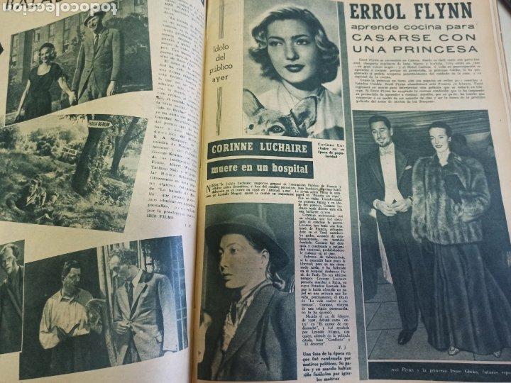 Cine: PRIMER PLANO. REVISTA ESPAÑOLA DE CINEMATOGRAFÍA. AÑO 1950 COMPLETO. 53 REVISTAS MARÍA FÉLIX... - Foto 6 - 267269519