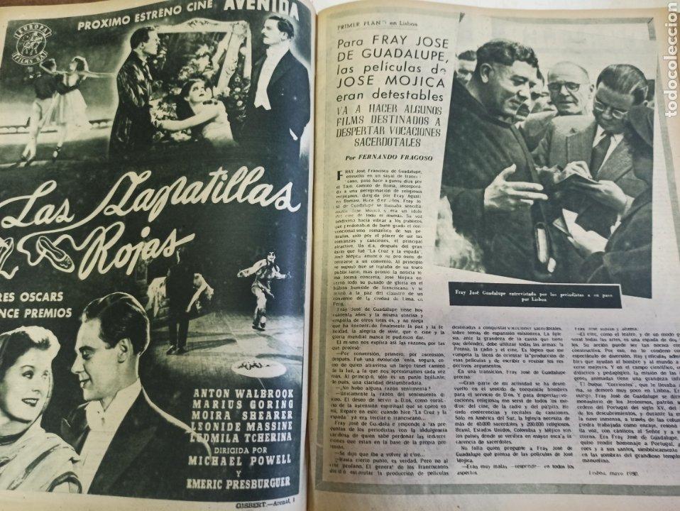 Cine: PRIMER PLANO. REVISTA ESPAÑOLA DE CINEMATOGRAFÍA. AÑO 1950 COMPLETO. 53 REVISTAS MARÍA FÉLIX... - Foto 9 - 267269519