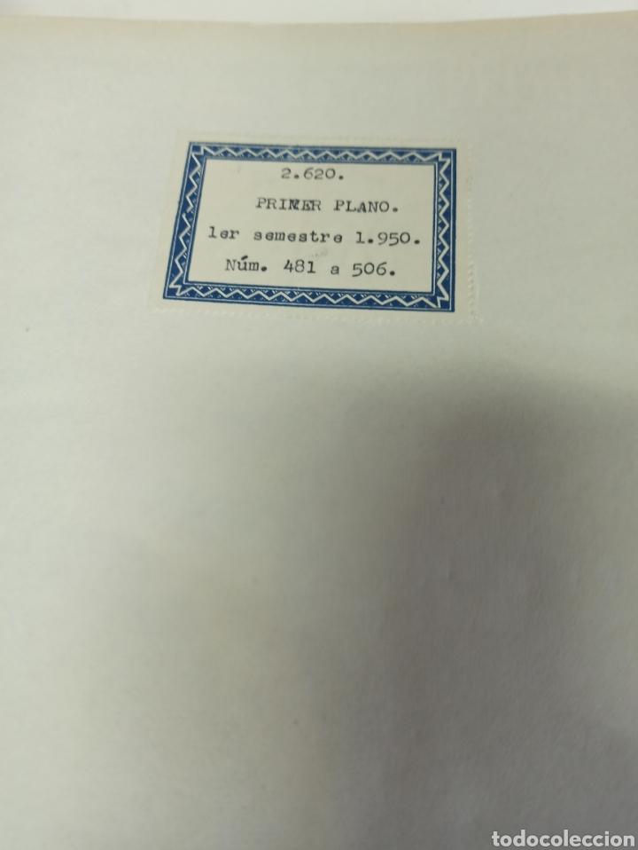 Cine: PRIMER PLANO. REVISTA ESPAÑOLA DE CINEMATOGRAFÍA. AÑO 1950 COMPLETO. 53 REVISTAS MARÍA FÉLIX... - Foto 10 - 267269519