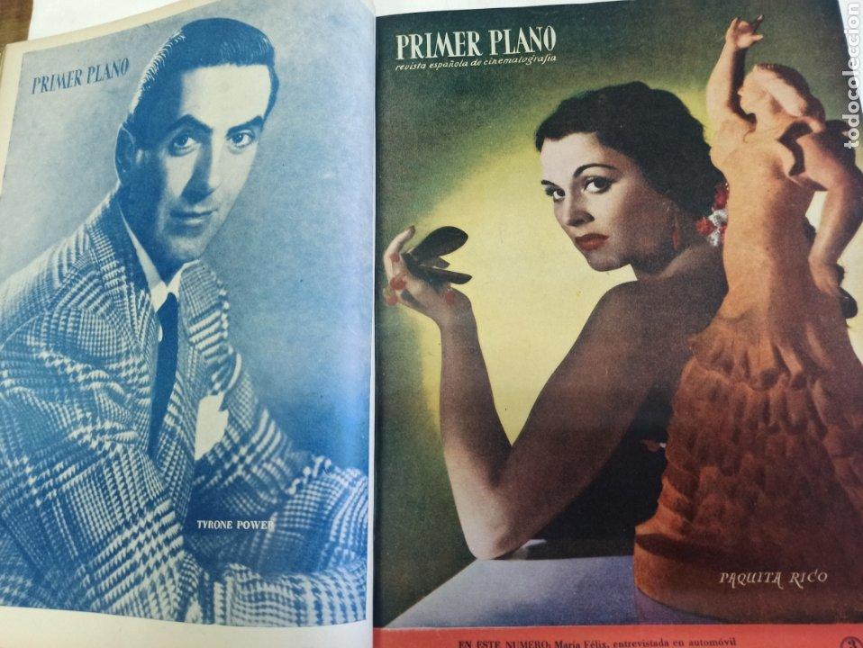 Cine: PRIMER PLANO. REVISTA ESPAÑOLA DE CINEMATOGRAFÍA. AÑO 1950 COMPLETO. 53 REVISTAS MARÍA FÉLIX... - Foto 13 - 267269519