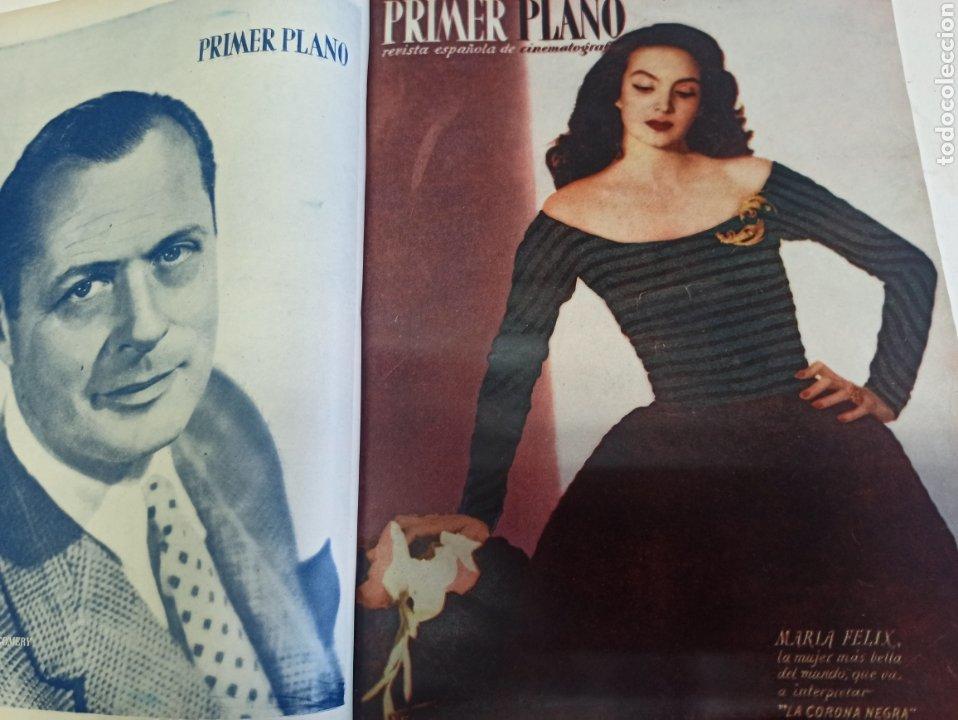 Cine: PRIMER PLANO. REVISTA ESPAÑOLA DE CINEMATOGRAFÍA. AÑO 1950 COMPLETO. 53 REVISTAS MARÍA FÉLIX... - Foto 14 - 267269519