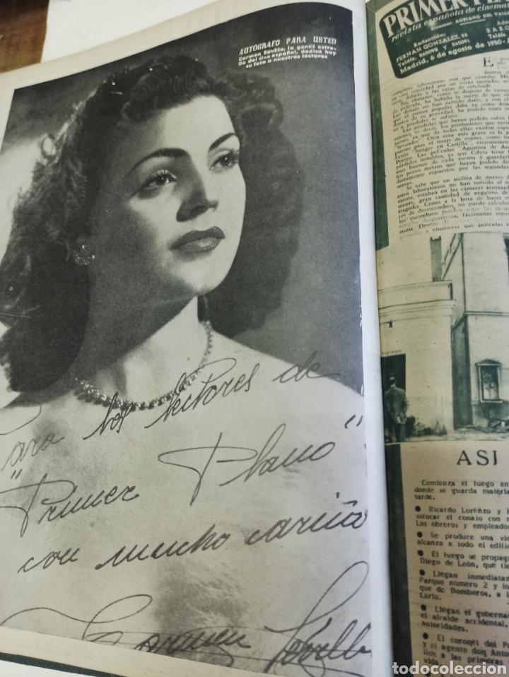 Cine: PRIMER PLANO. REVISTA ESPAÑOLA DE CINEMATOGRAFÍA. AÑO 1950 COMPLETO. 53 REVISTAS MARÍA FÉLIX... - Foto 15 - 267269519