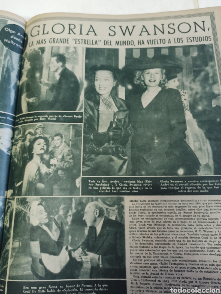Cine: PRIMER PLANO. REVISTA ESPAÑOLA DE CINEMATOGRAFÍA. AÑO 1950 COMPLETO. 53 REVISTAS MARÍA FÉLIX... - Foto 16 - 267269519