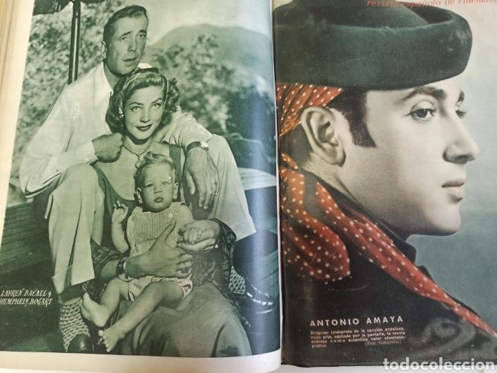Cine: PRIMER PLANO. REVISTA ESPAÑOLA DE CINEMATOGRAFÍA. AÑO 1950 COMPLETO. 53 REVISTAS MARÍA FÉLIX... - Foto 21 - 267269519