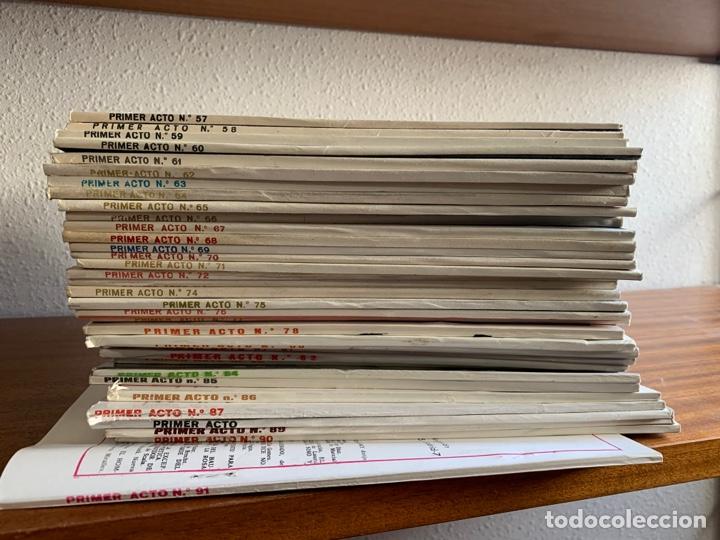 Cine: Revista de teatro Primer acto hasta el número 91. (Falta alguna de las primeras) - Foto 4 - 267291734