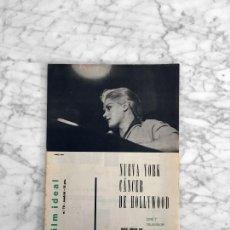 Cine: FILM IDEAL - Nº 72 - 1961 - MARY URE, GIUSEPPE DE SANTIS, FRANCIA 1960, ALBERT FINNEY, CINE INFANTIL. Lote 267370824