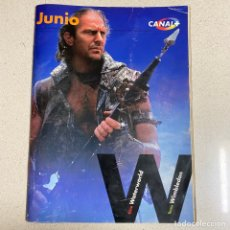 Cinema: REVISTA CANAL PLUS Nº 81 'WATER WORLD KEVIN COSTNER'. Lote 267375209