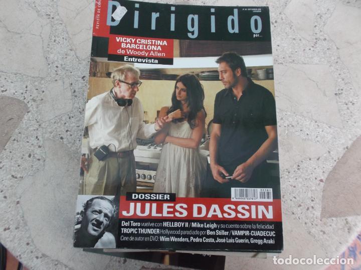 DIRIGIDO POR Nº 381, DOSSIERJULES DASSIN, WOODY ALLEN, GUILLERMO DEL TORO, MIKE LEIGH, BEN STILLER (Cine - Revistas - Dirigido por)