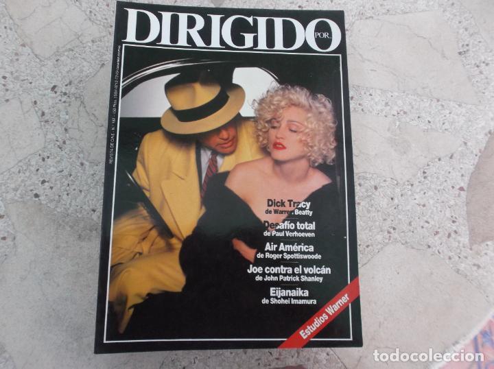 DIRIGIDO POR Nº 182, ESTUDIOS WARNER, OTTO PREMINGER, DICK TRACY, DESAFIO TOTAL, AIR AMERICA (Cine - Revistas - Dirigido por)