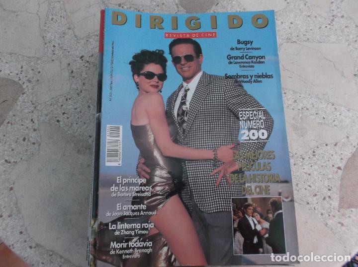DIRIGIDO POR Nº 200, KENNETH BRANAGH, LAWRENCE KASDAN, EL AMANTE, LA LINTERNA ROJA, BUGSY (Cine - Revistas - Dirigido por)
