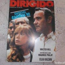 Cine: DIRIGIDO POR Nº 94, WATEL HILL, MAURICE PIALAT, ELIA KAZAN, CANNES 82, CINE MARGINAL. Lote 267751869