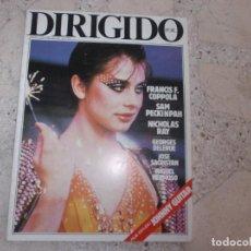 Cine: DIRIGIDO POR Nº 110, FRANCIS F. COPPOLA, SAN PECKINPAH, NICHOLAS RAY, JOHNNY GUITAR, MIGUEL HERMOSO. Lote 267752514