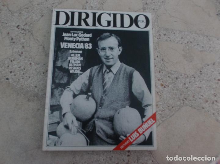DIRIGIDO POR Nº 107, JEAN LUC GODARD, MONTY PYTHON, VENECIA 83, ESTUDIO LUIS BUÑUEL, FELLINI (Cine - Revistas - Dirigido por)