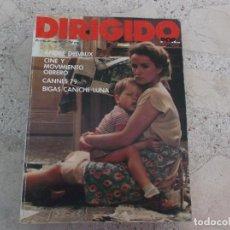 Cine: DIRIGIDO POR Nº 65, ANDRE DELVAUX, CINE Y MOVIMIENTO OBRERO, CANNES 79, BIGAS CANICHE LUNA. Lote 267753244