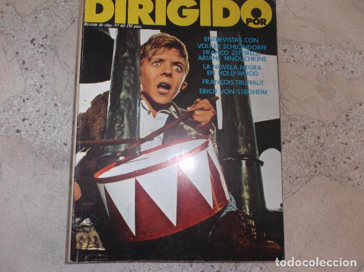 DIRIGIDO POR Nº 68, VOLKER SCHLONDORFF, FRANCO ZEFFIRELLI, LA NOVELA NEGRA EN HOLLYWOOD, TRUFFAUT (Cine - Revistas - Dirigido por)