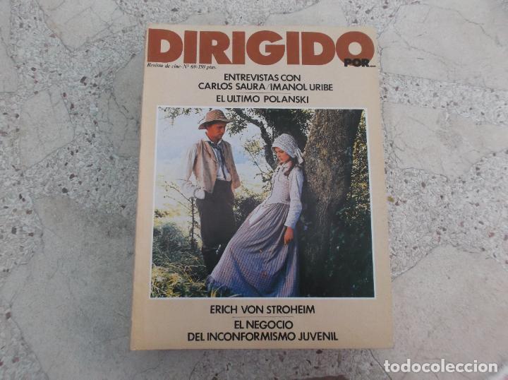 DIRIGIDO POR Nº 69, CARLOS SAURA, IMANOL URIBE,EL ULTIMO POLANSKI, EL NEGOCIO DEL INCONFORMISMO (Cine - Revistas - Dirigido por)