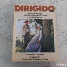 Cine: DIRIGIDO POR Nº 69, CARLOS SAURA, IMANOL URIBE,EL ULTIMO POLANSKI, EL NEGOCIO DEL INCONFORMISMO. Lote 267753889