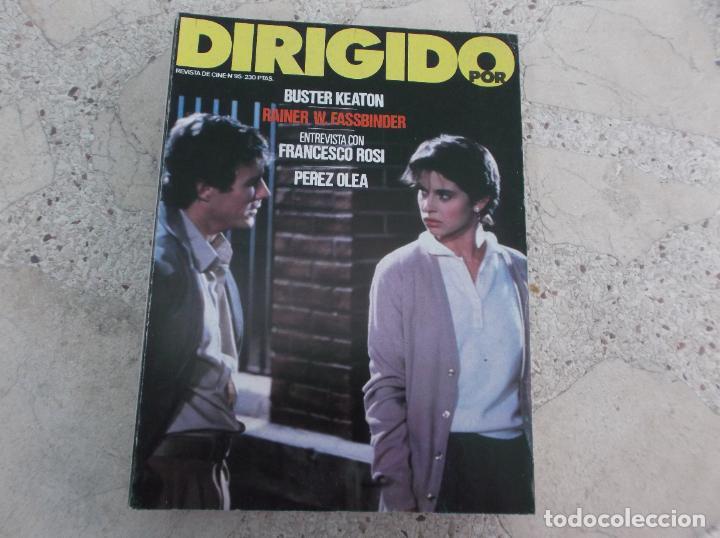DIRIGIDO POR Nº 95, BUSTER KEATON, FRANCESCO ROSI, PEREZ OLEA, RAINES W. FASSBINDER (Cine - Revistas - Dirigido por)
