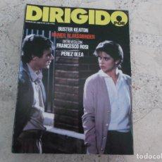 Cine: DIRIGIDO POR Nº 95, BUSTER KEATON, FRANCESCO ROSI, PEREZ OLEA, RAINES W. FASSBINDER. Lote 267754059