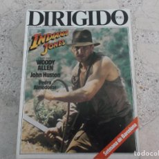 Cinema: DIRIGIDO POR Nº 117, INDIANA JONES, WOODY ALLEN JOHN HUSTON, PEDRO ALMODOVAR. Lote 267754524