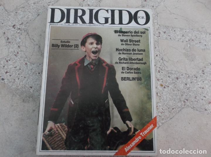 DIRIGIDO POR Nº 156, BILLY WINDER 2 PARTE, OLIVERSTONE, EL DORADO, GRITA LIBERTAD, ALEXANDRE TRAUNER (Cine - Revistas - Dirigido por)