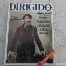 Cine: DIRIGIDO POR Nº 156, BILLY WINDER 2 PARTE, OLIVERSTONE, EL DORADO, GRITA LIBERTAD, ALEXANDRE TRAUNER. Lote 267755234