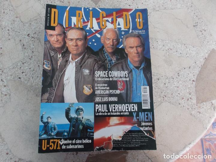 DIRIGIDO POR Nº 293, JOSE LUIS BORAU, PAUL VERHOEVEN, U-571, SPACE COWBOYS, AMERICAN PSYCHO (Cine - Revistas - Dirigido por)