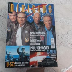 Cine: DIRIGIDO POR Nº 293, JOSE LUIS BORAU, PAUL VERHOEVEN, U-571, SPACE COWBOYS, AMERICAN PSYCHO. Lote 267755649